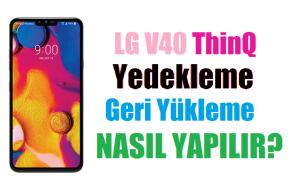 LG V40 Thinq nasıl format atılır? 4