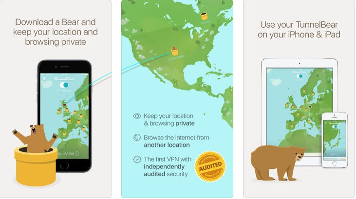iPhone için VPN uygulamaları indir | En iyi 10 Ücretsiz VPN 1