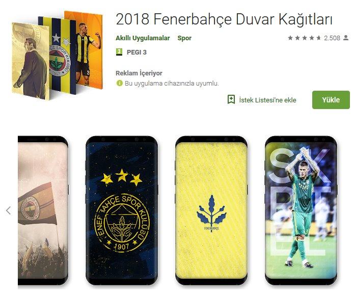 2019 Fenerbahçe Duvar Kağıtları indir (Android) 1
