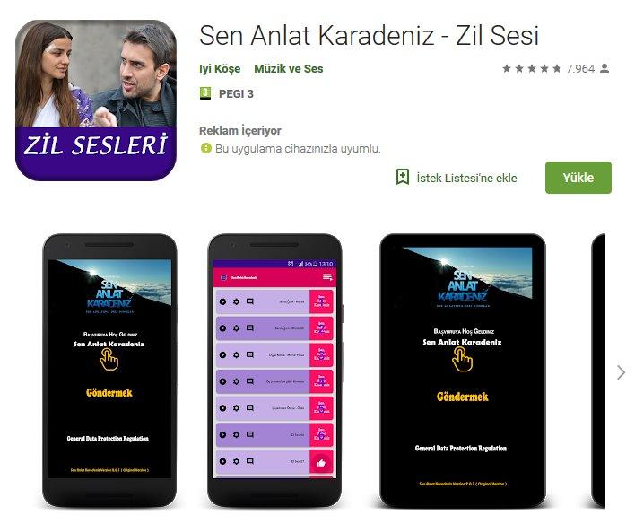 Sen Anlat Karadeniz - Zil Sesi indir (Android) 1