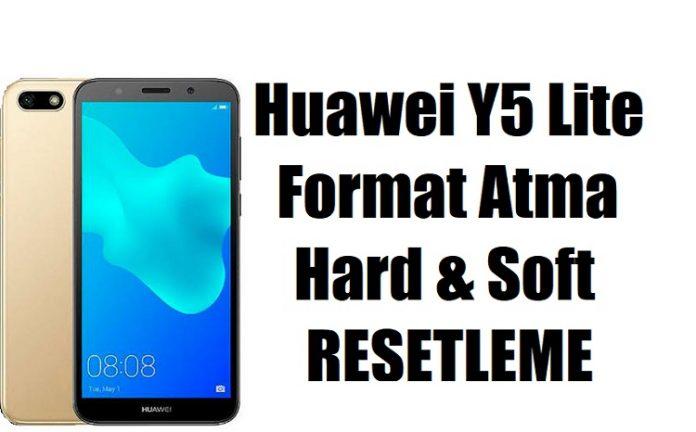 Huawei Y5 Lite nasıl format atılır? | Sıfırlama & Reset