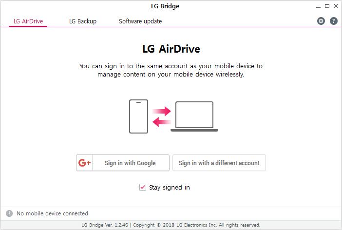 LG Bridge nasıl kullanılır? 16