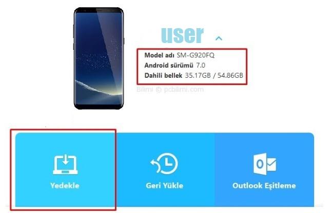 Samsung Galaxy Geri Yükleme ve Yedekleme - Tüm Modeller 5