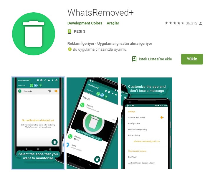 Whatsapp herkesten silinen mesajlar nasıl getirilir? 4