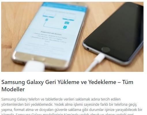 Samsung Galaxy S10e, S10 ve S10+ nasıl format atılır? 1
