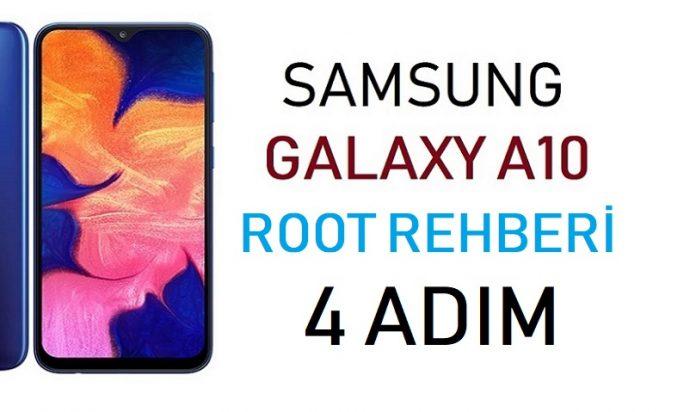 Galaxy A10 Root Rehberi