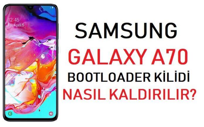 Galaxy A70 Bootloader Kilidi