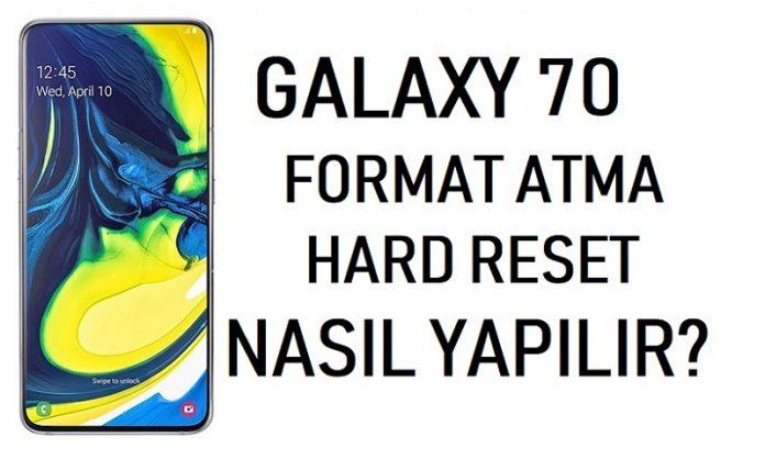 galaxy a70 format atma
