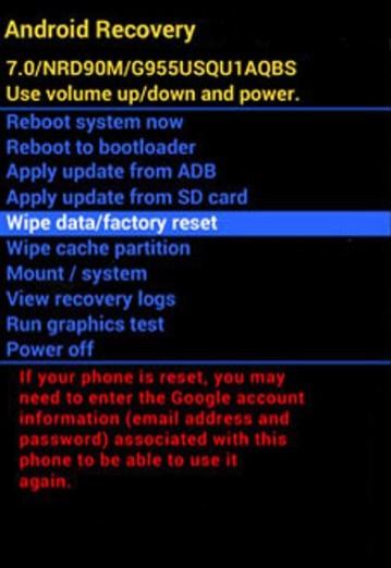 Samsung Galaxy A70 nasıl format atılır? 2