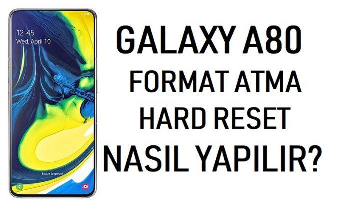 galaxy a80 format atma