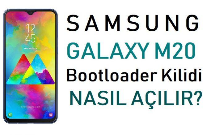 Samsung Galaxy M20 Bootloader Kilidi