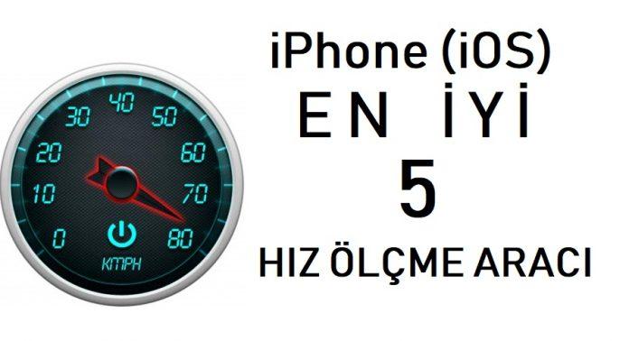 iPhone hiz ölçme aracı