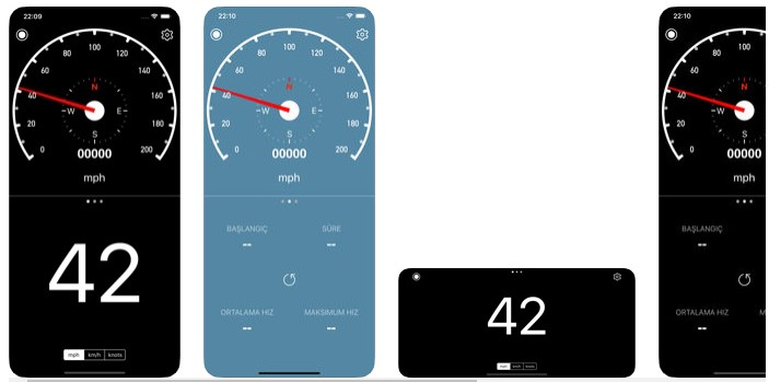 iPhone Speedometer