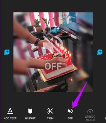 video mute quick