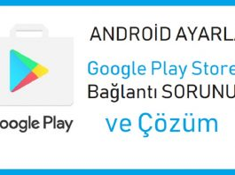 Google Play Store internet sorunu