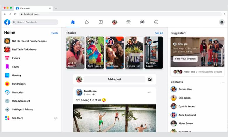 Facebook Yeni Kullanıcı Arayüzünü Kullanıcılara Sundu! 4