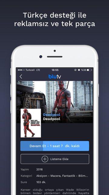 BluTV indir - Canlı Televizyon Uygulaması 4