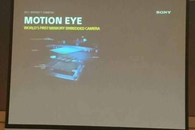 Sony Xperia XZs ve XZ Premium Motion Eye ile geliyor 8