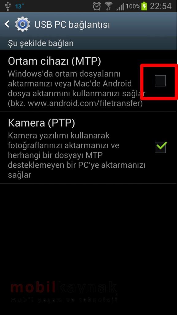 Samsung Galaxy s4 Kies Bağlantı Sorunu mobilkaynak