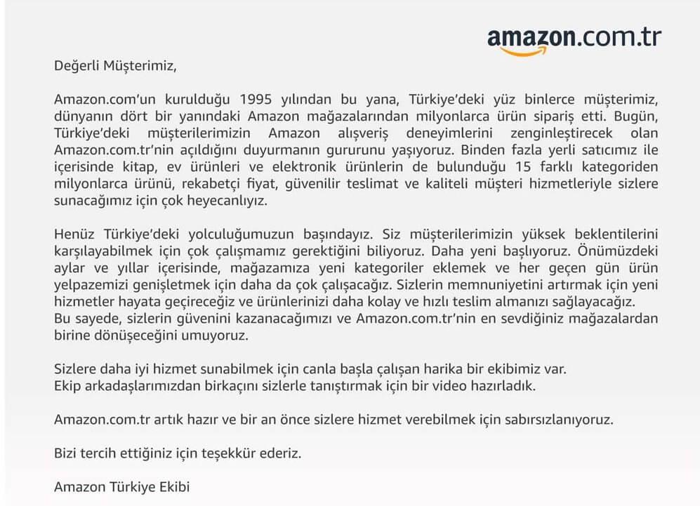 Amazon Türkiye açıldı, Nasıl kullanılır? Bilinmesi gerekenler 1