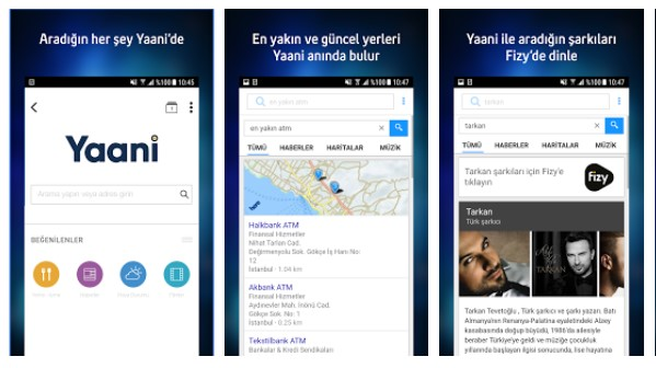 Türkiye'nin arama motoru Turkcell Yaani indir (iOS) 7