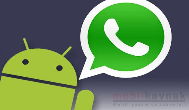 android-icin-whtasapp-guncellemesi