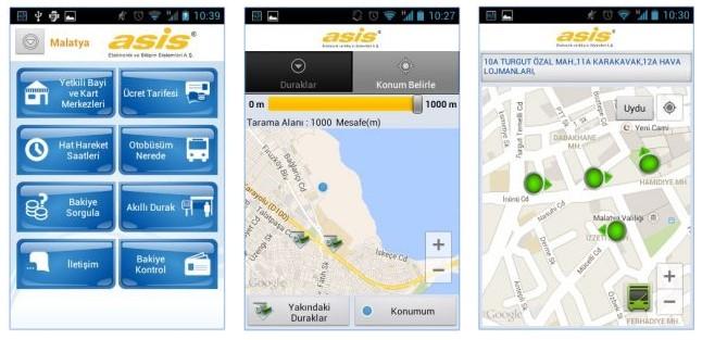 Aydın sarı otobüs takip uygulaması 1