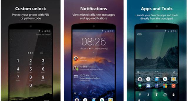 Android için En İyi Ekran Kilidi Koyma Uygulamaları 10