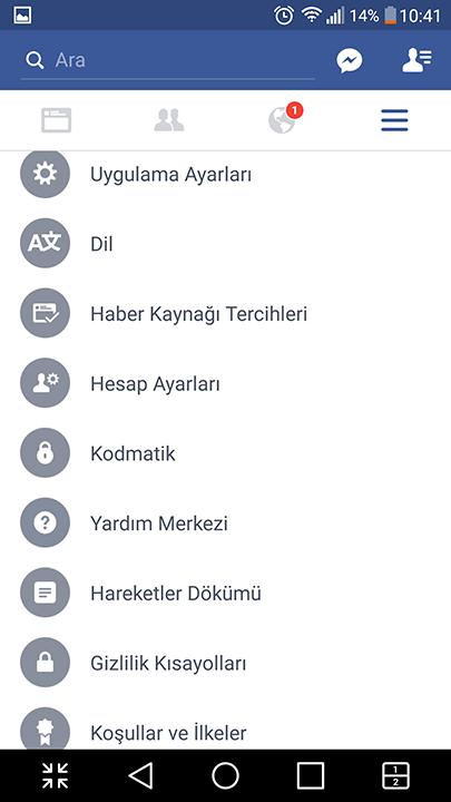 Android'de Facebook hesabı nasıl dondurulur? 7