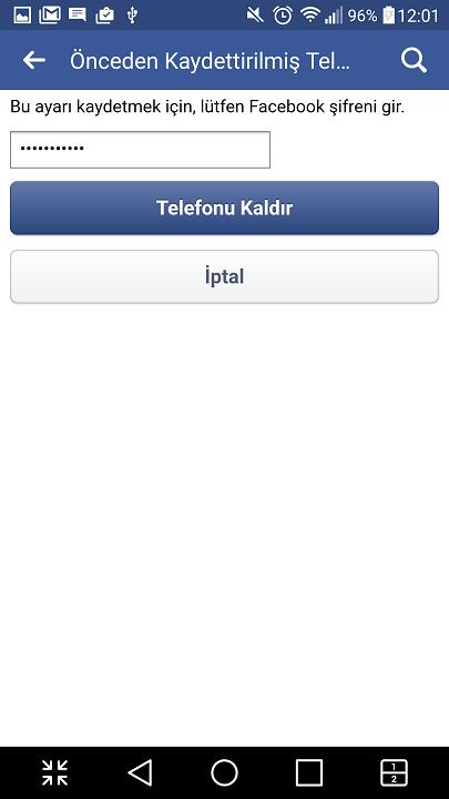 Facebook'ta telefon numarası kaldırma nasıl yapılır? 15