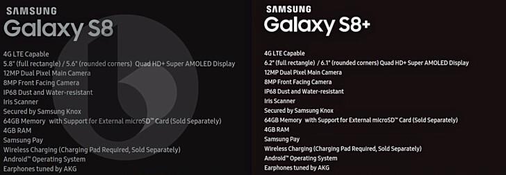 Galaxy S8'in basındaki fotoğrafı ortaya çıktı 8