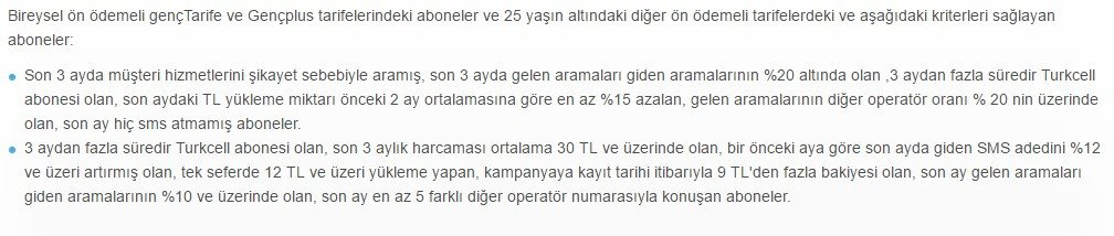Turkcell hediye internet kampanyanları (2017) 4