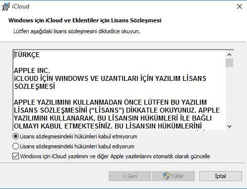 iCloud nedir ve nasıl indirilir? (Windows - PC) 1