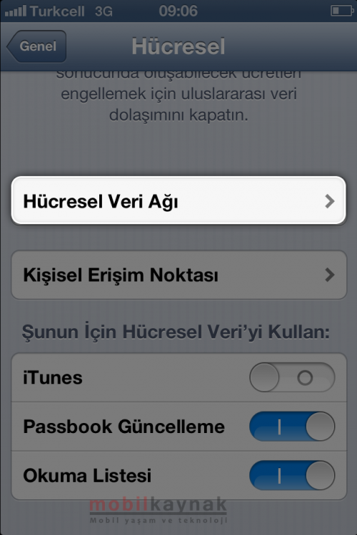 iphone-3-internet ayari-mobilkaynak
