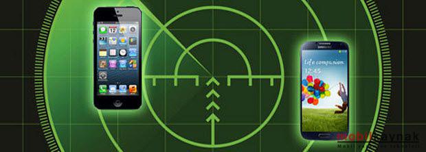 başkasının iphone gps üzerinden haritadan takip etme uygulama