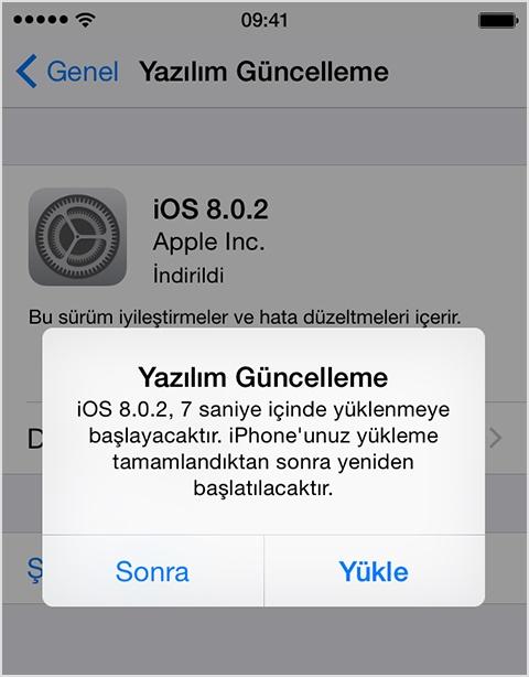 iOS 10 | Manuel Yazılım Güncellemesi İndir