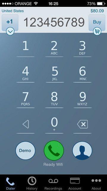 Call Recorder - IntCall indir (iOS) 7