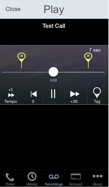 Call Recorder - IntCall indir (iOS) 8