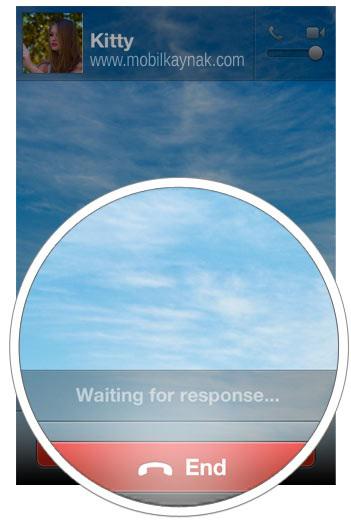 iphone wechat görüntülü arama
