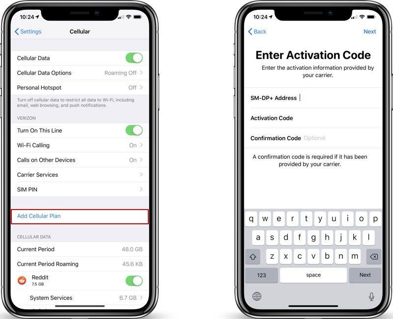 eSIM iOS 12.1 ile geliyor 1