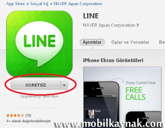 itunes line indir ücretsiz