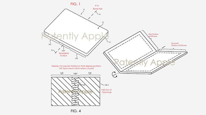Apple katlanabilir iPhone için hazırlık yapıyor 4