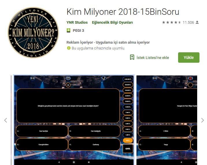 Kim Milyoner 2019 indir 4