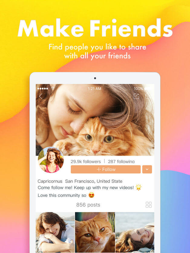 Kwai indir (Ücretsiz sosyal video ağı uygulaması) 3