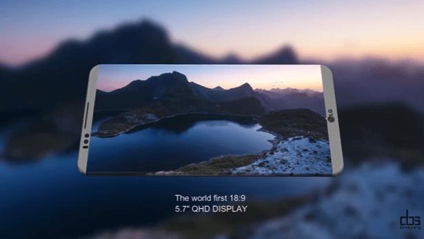 LG G6 en yeni konsept görüntüleri ve video 1