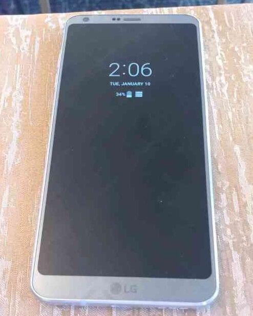 LG G6'nın en net görüntüsü sızdırıldı 3