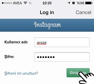 repost for instagram login