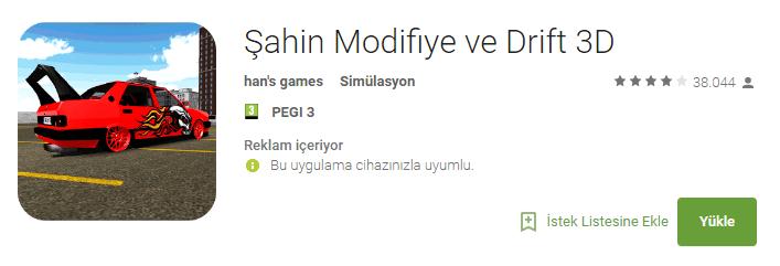 Android için En iyi Şahin Modifiye Oyunları 1