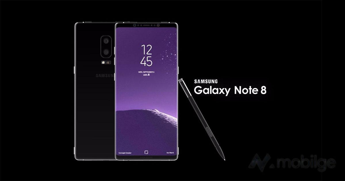 İşte yeni Samsung Note 8! Özellikleri ve fiyatı ne olacak? 4