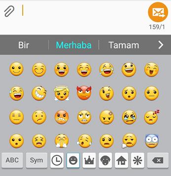 samsung-klavye-emoji